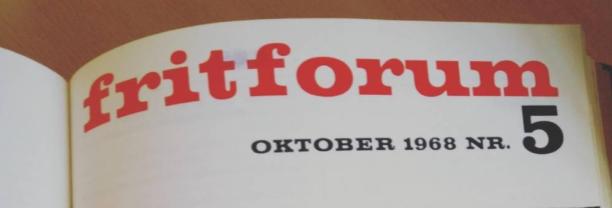 Frit Forums medlemsblad!